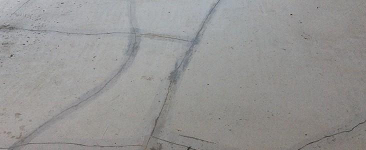 Reparer fissure chape ciment