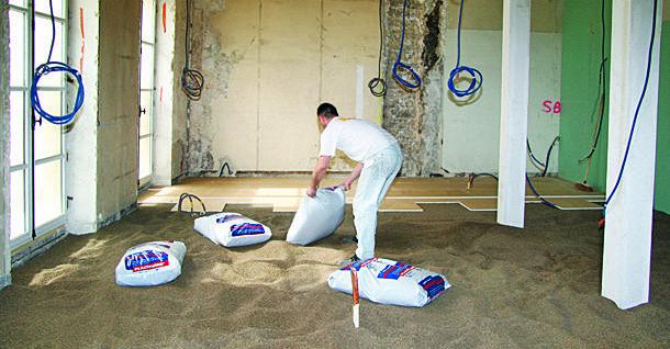 Placosol : Chape sèche pour un appartement parisien