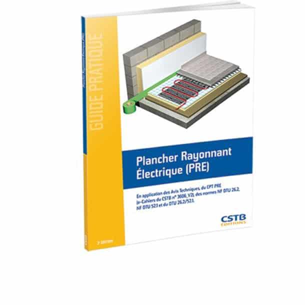 Plancher rayonnant électrique (PRE)