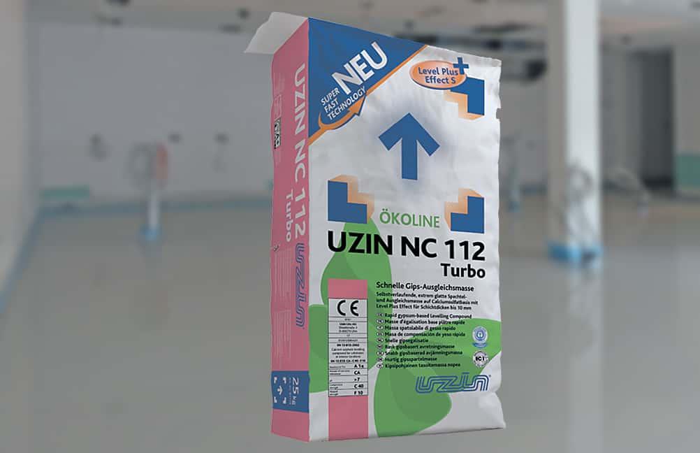 Uzin NC 112 Turbo : Recouvrable en 6 h
