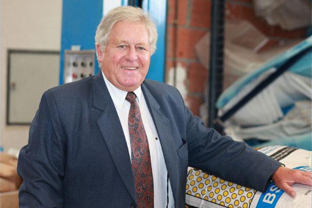 Gérard Lafon, directeur et fondateur de TBA-Bétostyrène. [©TBA-Bétostyrène]