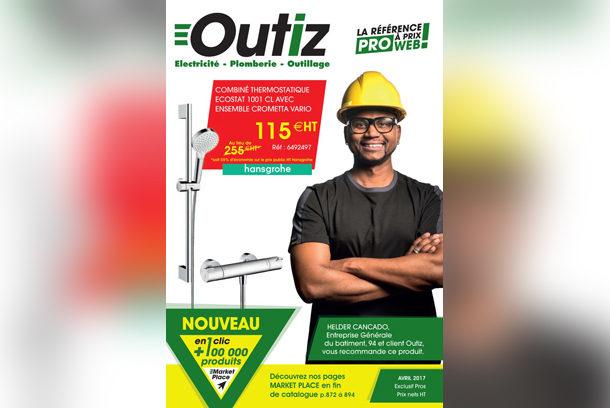 Outiz vient d'éditer la 7e version de son catalogue de matériels et équipements. [©Saint-Gobain]