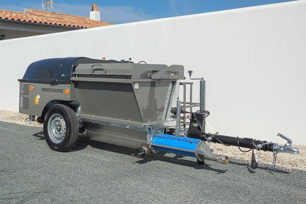 Transporteur à chapes fluides Priomix Pragma CL. [©Priomix]