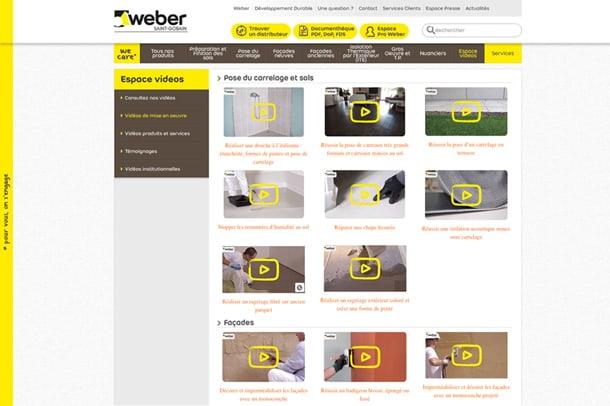 Bienvenue sur les chaînes vidéos de Weber