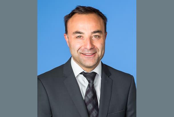Bruno Burger, chef de marché national second œuvre et responsable du développement durable de Knauf Bâtiment. [©Knauf Bâtiment]