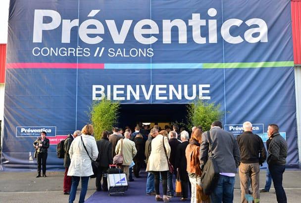 Le salon Préventica se tiendra de 20 au 22 juin au Parc des expositions de Versailles. [©Préventica]