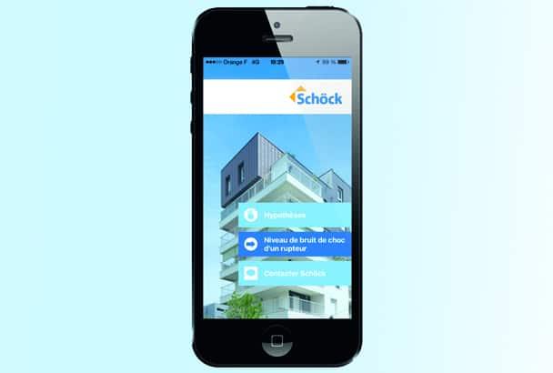 Acousti Phone, l'appli utile de Schöck
