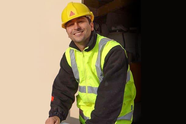 Joachim Monge est ingénieur produits chapes chez Sika. [©Sika]