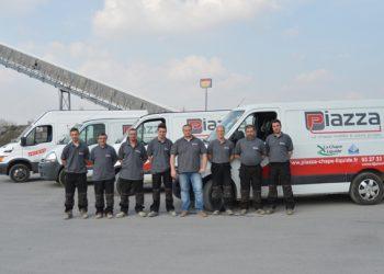 Grâce à son équipe et son organisation, l'entreprise Piazza est en mesure d'effectuer entre 2 et 3 chantiers/j. [©Piazza]