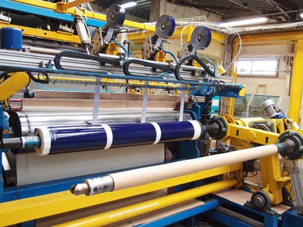 La sous-couche Tramichape est conçue à partir de fibres de polyester. [©Tramico]
