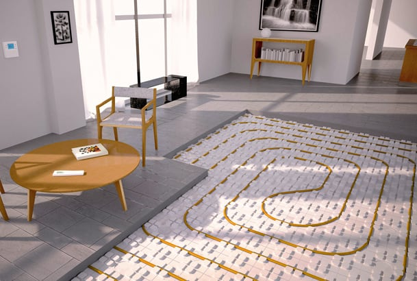 La marque Certitherm s'adresse désormais aux systèmes de planchers chauffants ou rafraîchissants allant de R de 0,75 m2.K/W à R de 5,5 m2.K/W. [©Cochebat]