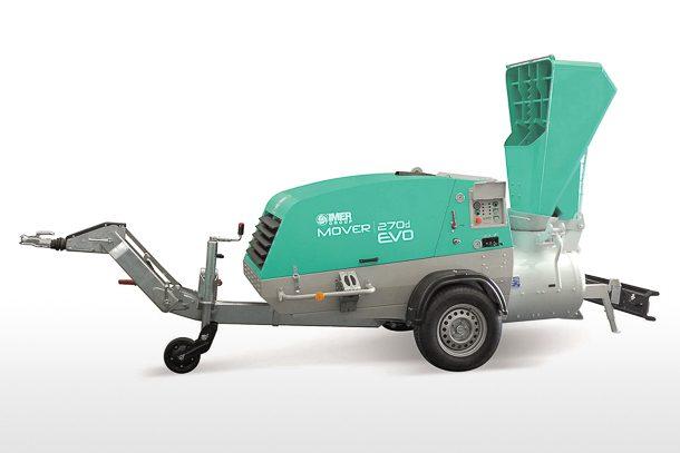 Le Mover 270 DBR Evo d'Imer, une machine revue dans sa globalité. [©Imer]
