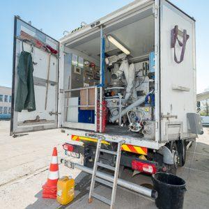 Le Weber Truck intègre tous les dispositifs, permettant la fabrication et la traçabilité de la production. [©ACPresse]