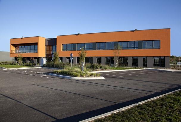 Le centre d'innovation à Saint-Quentin-Fallavier se développe sur environ 5 000 m2. [©ParexGroup]