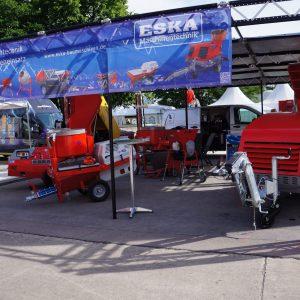Stand extérieur de Eska Maschinenbau à l'EPF. [©JT]