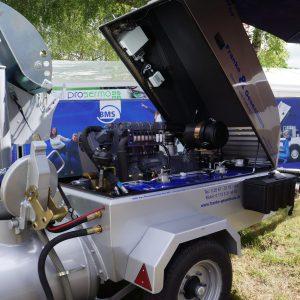 Les pompes BMS se distinguent par la disposition de leur système de refroidissement, qui est nettoyable de manière aisée. [©JT]