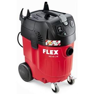 La référence VCE 45 L AC de Flex est adaptée aux poussières pour des valeurs AGW supérieures à 1mg/m3. [©Flex]