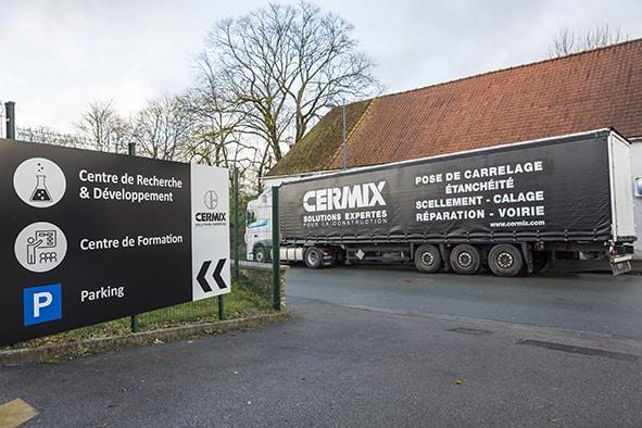 Cermix se dote d'un centre de formation et agrandit son centre de recherche et de développement. [©Cermix]