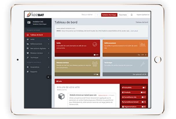 KeeBat, l'application de veille digitale des acteurs du bâtiment