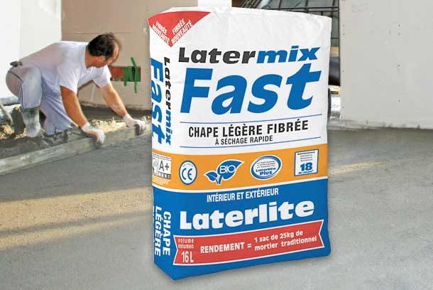 Latermix Fast, la plus performante des chapes légères du marché