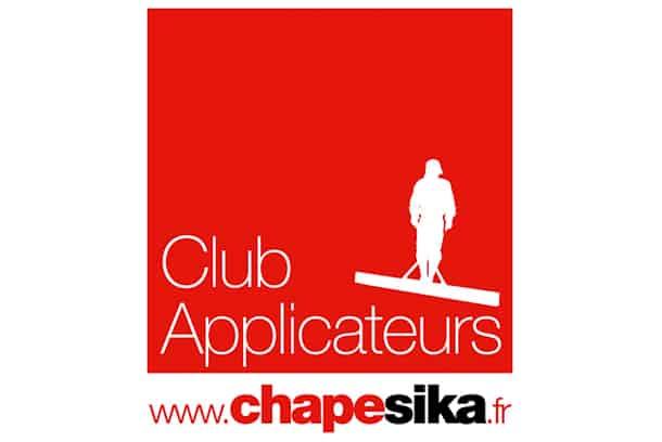Logo Club Applicateurs Chape de Sika