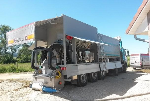 Centrales mobiles pour chapes fluides - Série ALS