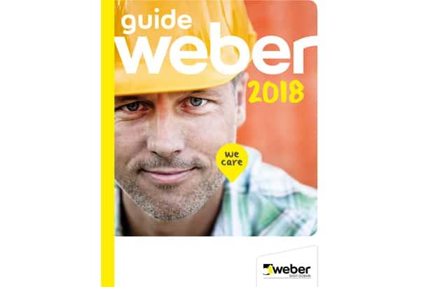 e guide Weber 2018 pour les professionnels du bâtiment. [©Weber]