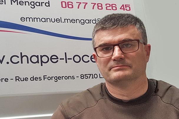 Emmanuel Mengard gérant de Chape l'Océane [©Chape L'Océane]