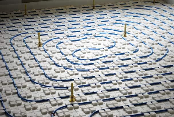 Le plancher chauffant-refroidissant gagne des parts de marché. [©Thermactif]