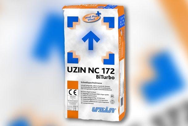 Nouveau ragréage autolissant Uzin NC 172 BiTurbo. [©Uzin Utz]