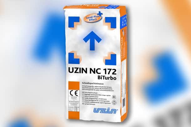 Uzin NC 172 BiTurbo : le ragréage le plus rapide du monde