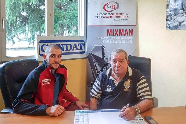 Geoffrey Grollé, responsable commercial, et Jean-Laurent Grollé, gérant de Grollé Services. [©Grollé Services]