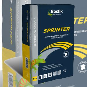 Le Sprinter est le dernier-né des ragréages Bostik. [©Bostik]