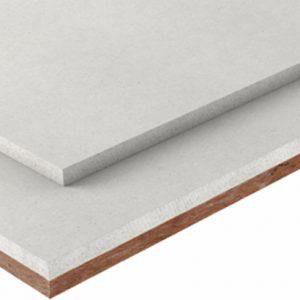 Fermacell propose sa plaque de sol avec l'isolation phonique intégrée. [©Fermacell]