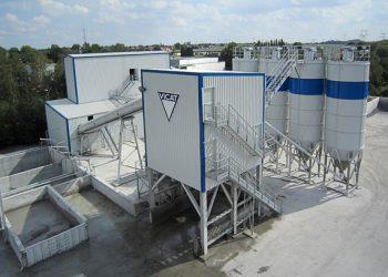 Béton Vicat est en train de déployer les chapes fluides anhydrite au niveau national. [©Vicat]