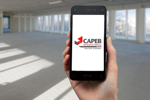 L'application de la Capeb Rhône sera disponible sur toutes les plates-formes dès le 29 juin 2018.[©ACPresse/Capeb]