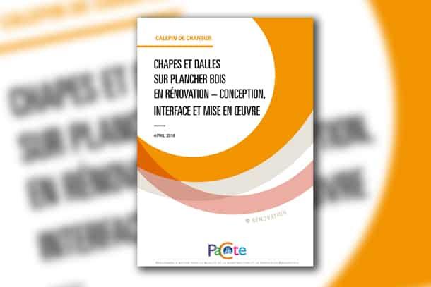 Les productions du programme Pacte sont le fruit d'un travail collectif des différents acteurs de la filière bâtiment en France. Le secrétariat technique en est assuré par l'Agence Qualité Construction.