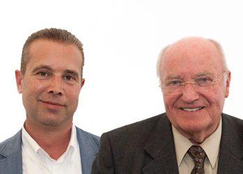 Ludger Glaap et Fritz Brinkmann, les deux associés fondateurs de GB Machines. [©GB machines]
