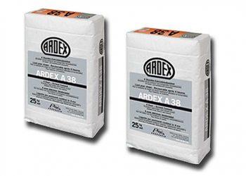 Le liant Ardex A38 permet de réaliser rapidement des chapes en ciment. [©Ardex]