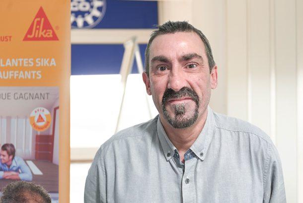 Frédéric Fournet est le nouvel animateur du réseau chapes de Sika. [©Sika/ACPresse]