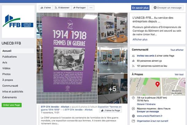 L'Unecb-FFB like Facebook