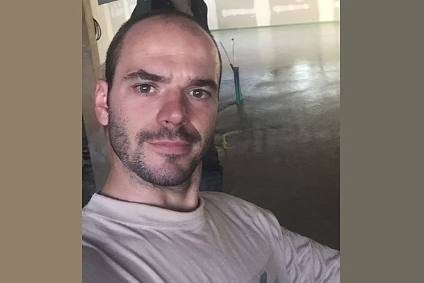 Guillaume Gaillard, gérant de Chapes Solutions.