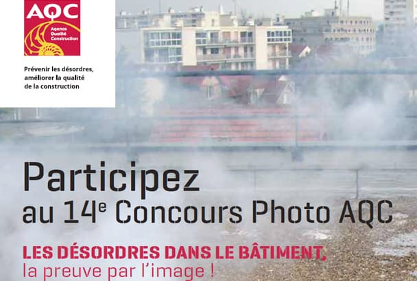 Les candidats ont jusqu'au 31 mars 2019 pour déposer leur dossier et participer à la 14e édition du concours photo de l'AQC. [©AQC]