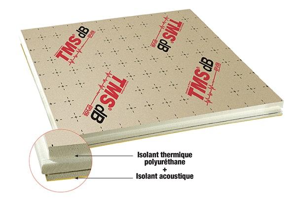 TMS dB de SOPREMA, le panneau isolant thermo-acoustique pour les sols