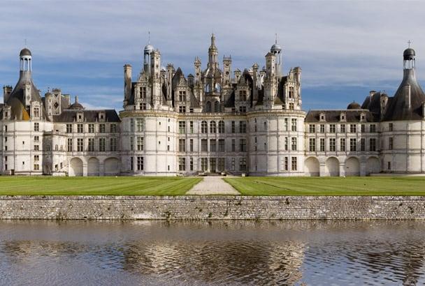 La chape anhydrite pour le château de Chambord