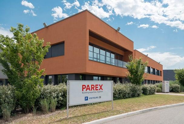 Parex a inauguré son nouveau centre de R&D, à Saint-Quentin Fallavier (38), en septembre 2016. [©ACPresse]