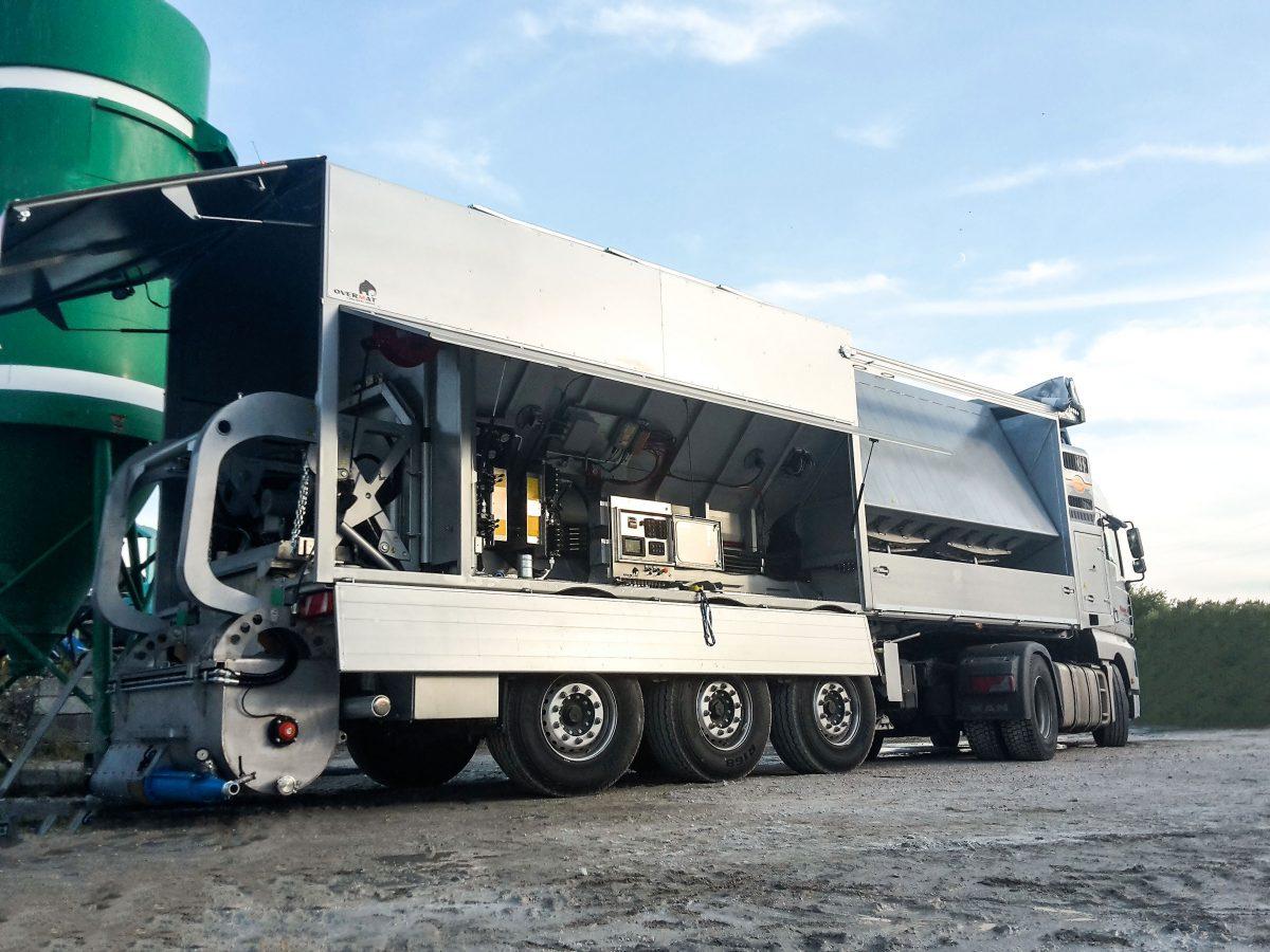 Overmat : Les centrales mobiles à chape sur chantier