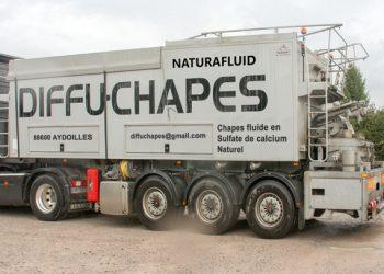 Sous DTA, la Naturafluid de Diffu-Chapes doit être fabriquée en centrale mobile sur remorque. [©Diffu-Chapes]