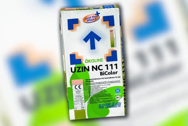 L'Uzin NC 111 BiColor change de couleur une fois sec