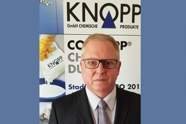 Christian Schunder est directeur France de Knopp. [©Knopp]
